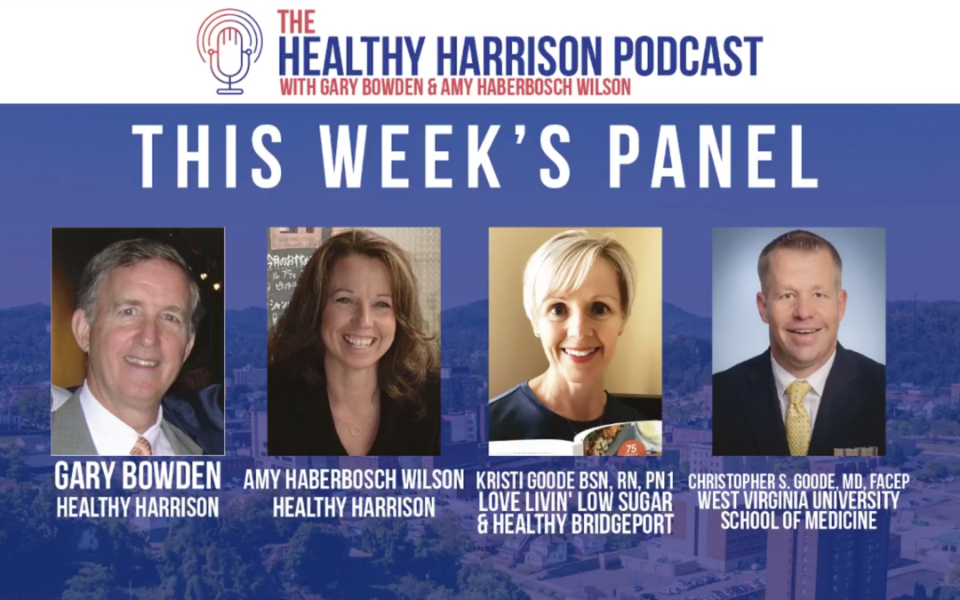 Episode 3 – April 26, 2021 – The Healthy Harrison Podcast